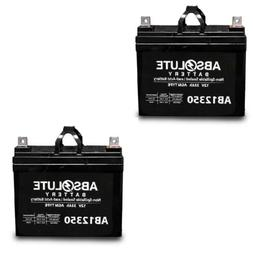 NEW 2 PACK AB12350 12V 35AH  SLA Battery Replaces Pride Mobi