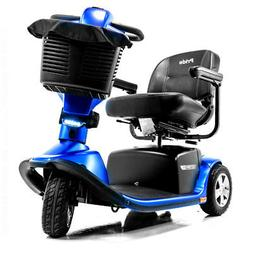 Pride Blue VICTORY 10.2 3-Wheel Mobility Scooter SC610.2 + A
