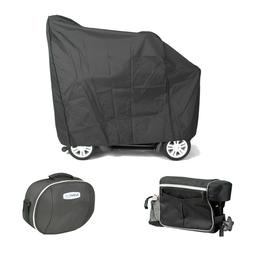 New DRIVE 3 Piece Mobility Scooter Access Kit Cover Back Pac