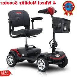 NEW Drive Mobility Scout Compact Travel Power Scooter 4 Whee