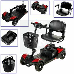 NEW Electric Portable Medical Mobility Scooter 4 Wheel WITH