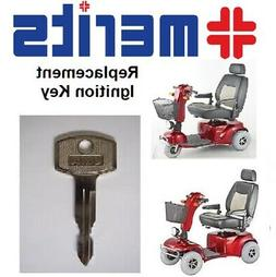 NEW Mobility Scooter Key for MERITS Pioneer 1 3 4 5 9 & 10.