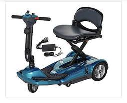 New EV Rider Transport Sea Blue AF Automatic Folding Mobilit