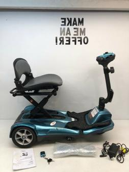 New EV Rider Transport Sea Blue AF Automatic Folding Mobilit