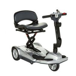 New EV Rider Transport Silver AF Automatic Folding Mobility