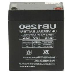 Universal Power Group NP5-12 Home Alarm Battery 12v 5ah SLA