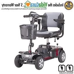 Phoenix 4-Wheel Heavy Duty Scooter by Drive Medical, Include