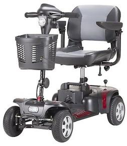 Phoenix HD 4 with 17.5 in Seat - Drive Mobility Travel Scoot