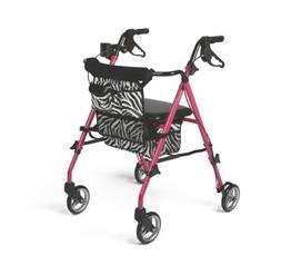 Medline Posh Rollator, Pink