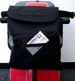 Power Scooter Deluxe Tiller Basket Bag B4221