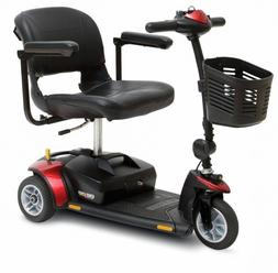 Pride Go-Go Elite Traveller 3-Wheel Mobility Scooter w/ 12 A
