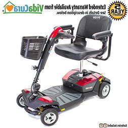 Pride Go-Go LX CTS Suspension 4-Wheel Scooter 18AH Battery w