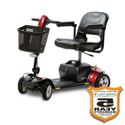 Pride GoGo LX 4 Wheel Scooter CTS Suspension 18AH Battery w/