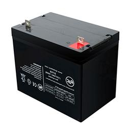Pride Mobility 1100 12V 75Ah Scooter Battery - This is an AJ