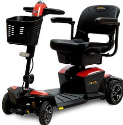 Pride Mobility Jazzy ZT 4W Power Electric Travel Scooter + F