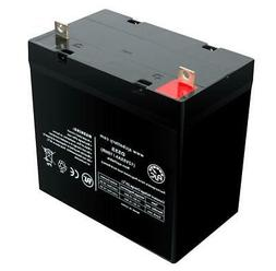 Jazzy 1121 12V 55Ah Scooter Battery - This is an AJC Brand®