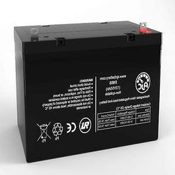 Jazzy 1105 12V 55Ah Scooter Battery - This is an AJC Brand®