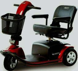 Pride VICTORY 10 3-Wheel Power Electric Mobility Scooter + F