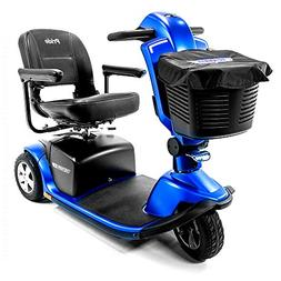 Pride Victory 10.2 Blue 3-Wheel Electric Scooter S6102 + Top