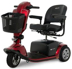 Pride Victory 10.2 Red 3-Wheel Electric Scooter S6102 + Top