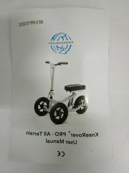KNEEROVER PRO ALL TERRAIN KNEE SCOOTER MAXIMIZE MOBILITY EAS