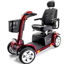 PURSUIT 4-Wheel Electric Scooter Pride Mobility S713 Red + A