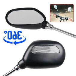 Rear View Mirror Bicycle Mobility Scooter Handlebar Accessor