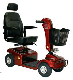 RED Shoprider Sunrunner 4 Wheel Mobility Scooter, 300 lb. We
