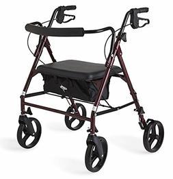 Rolling Walker For Seniors Medical Walkers Rollator Transpor