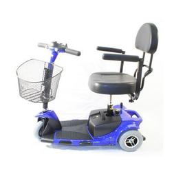 Roo 3 Wheel Scooter Color: Blue by Zip'r Mobility