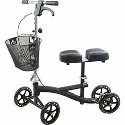 Roscoe Mobility Scooters Knee With Basket, Black, Walker For