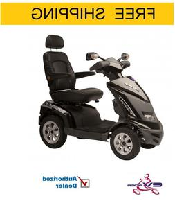 EV Rider Royale 4S four wheeled mobility scooter with Canopy