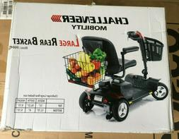 CHALLENGER MOBILITY SCOOTER J900 LARGE REAR BASKET, NEW IN B