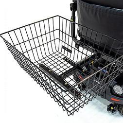 Scooter Rear Basket XL J1000 for Pride, Drive, Golden Electr