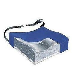 "Skil-Care Contour Cushion with Gel/Foam 18"" X 16"" X 3"" - Blu"