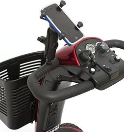 Smart Cell Phone Holder for most Pride Mobility Scooters ACC