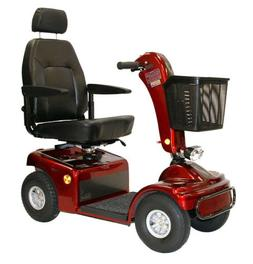 Shoprider Sprinter XL4 4-Wheel Mobility Scooter - Red
