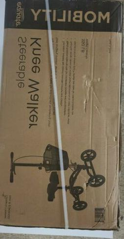 steerable knee walker scooter