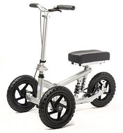 All Terrain KneeRover PRO Knee Walker - Steerable Aluminum K