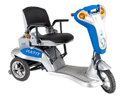 Titan Folding Three-Wheel Lightweight Electric Mobility Scoo