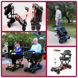 Transformer Automatic Folding  Mobility Travel Scooter with