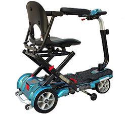 EV Rider TransportFolding Mobility Scooter w,Arm Rests, Upgr