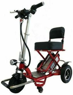 Enhance Mobility Triaxe Sport 3 Wheels Folding Mobility Scoo