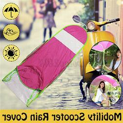Universal Car Motor Scooter Umbrella Mobility Sun Shade Rain