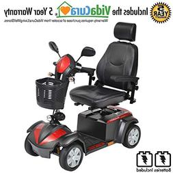 Drive Medical Ventura 4 Wheel DLX Scooter Includes 5 Year Pr