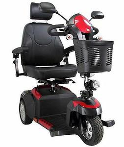 """Ventura Deluxe 3 Wheel Mobility Scooter Drive 18"""" Captains S"""