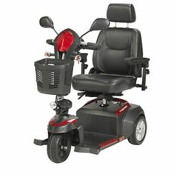"Drive Medical Ventura Power Mobility Scooter, 3 Wheel, 18"" C"