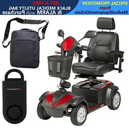 "Drive Ventura Power Mobility Scooter, 4 Wheel, 18"" Captains"