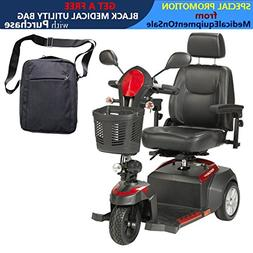 "Drive Ventura Power Mobility Scooter, 3 Wheel, 18"" Captains"