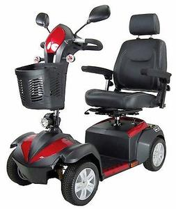 "Drive Medical Ventura Power Mobility Scooter, 4 Wheel, 18"" C"